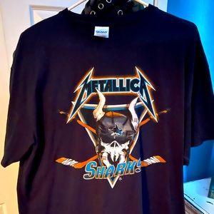 Limited Edition Metallica Night Sharks Shirt